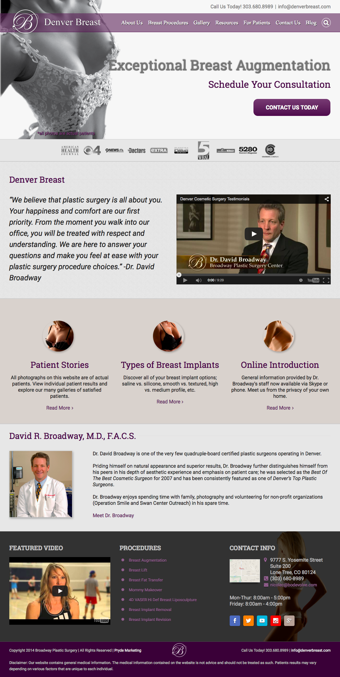 Denver Breast Homepage