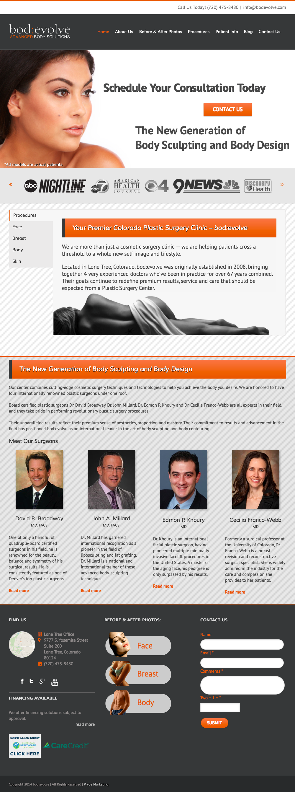 bod-evolve Home page